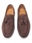 Лоферы замшевые SIGOTTO UOMO (Turkey) 3681 коричневые 20663