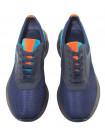Кроссовки кожано-текстильные SIGOTTO UOMO (Turkey) 20680 синие