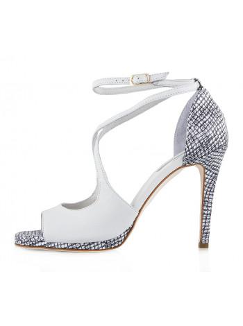 10037 TOSCA BLU (Italy) Туфли Открытые Белые