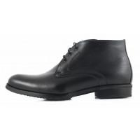 Ботинки зимние кожаные CONHPOL DYNAMIC (Poland ) 2135 черные