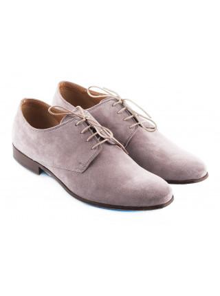 Туфли замшевые ADOLFO CARLI (ИТАЛИЯ) 2302 серые