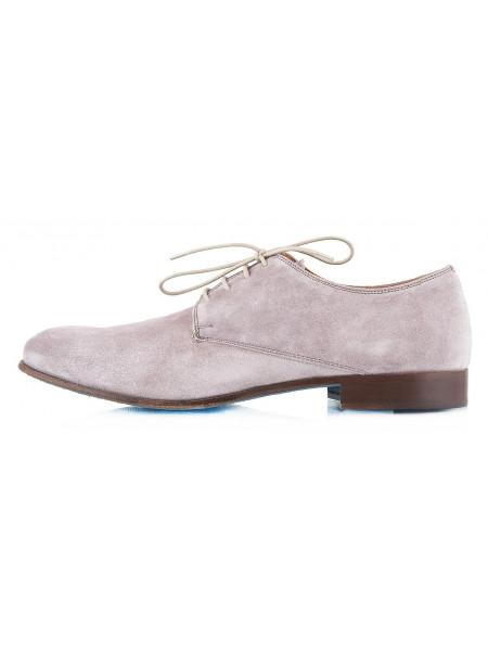 2302 ADOLFO CARLI (Italy) Туфли замшевые серые
