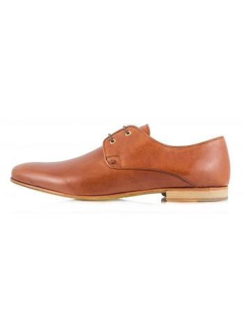 Туфли кожаные ADOLFO CARLI (Poland ) 2304 светло-коричневые