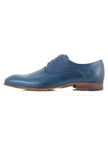 Туфли кожаные AMBITIOUS (Portugal) 2317 синие