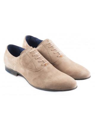 2321 AMBITIOUS (Portugal ) Туфли замшевые серые