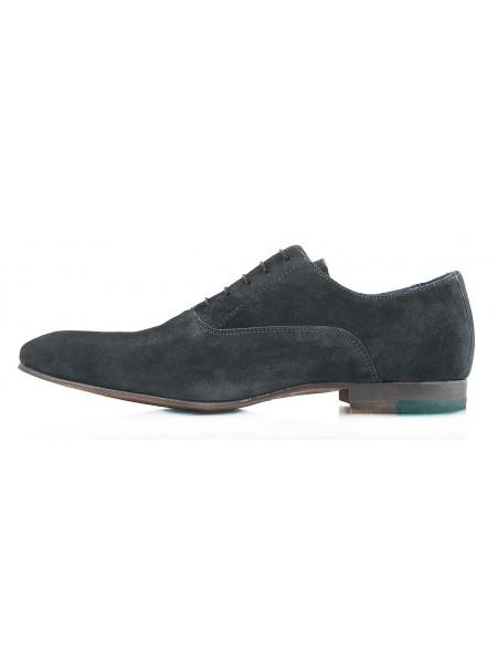 2322 AMBITIOUS (Portugal ) Туфли замшевые темно-серые