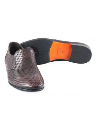 2327 ROBERTO di PAOLO (Italy ) Туфли коричневые cетка не сквозная