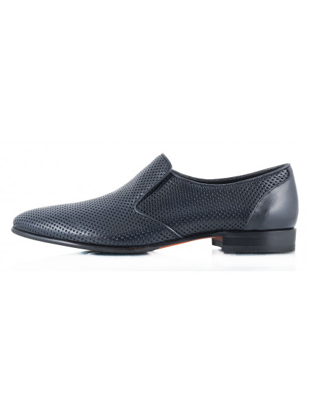 2328 ROBERTO di PAOLO (Italy ) Туфли темно-синие cетка не сквозная