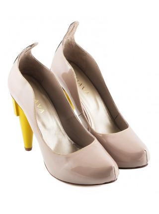 10173 GUAVA (Portugal) Туфли Лаковые Бежевые