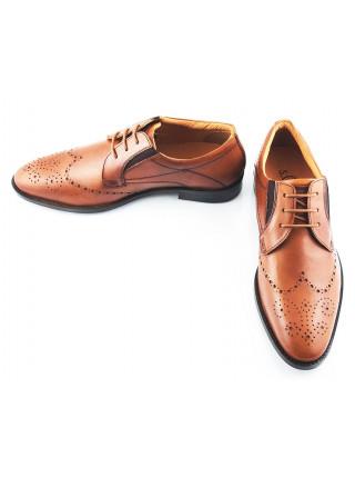 2370 S.OLIVER (Germany) Туфли кожаные коричневые