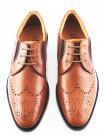 Туфли кожаные S.OLIVER (Germany) 2370 коричневые