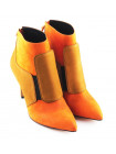 10223 VICENZA) (Italy) Полусапожки осенние нубук коричнево-оранжевые