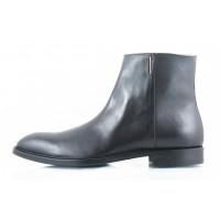 Ботинки осенние кожаные ADOLFO CARLI (ИТАЛИЯ) 2398 черные
