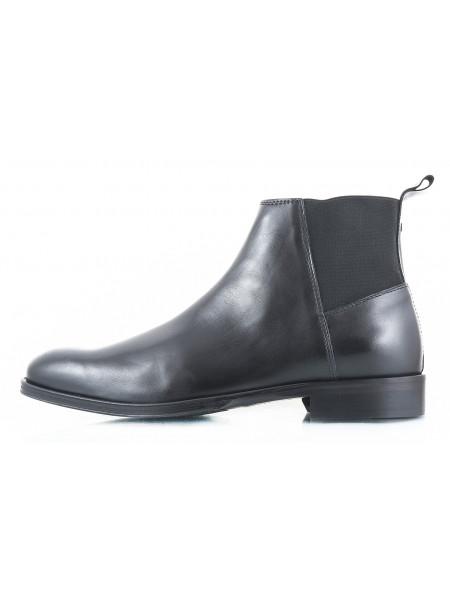 Ботинки осенние кожаные ADOLFO CARLI (ИТАЛИЯ) 2399 черные