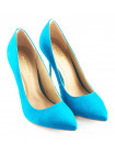 10335 INDIANA (Brazil) Туфли нубук бирюзовые