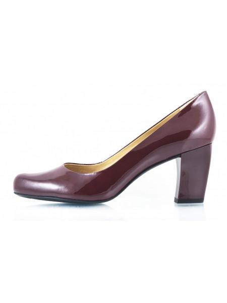 10337 INDIANA (Brazil) Туфли лаковые бордовые