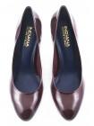 10340 INDIANA (Brazil) Туфли лаковые бордовые