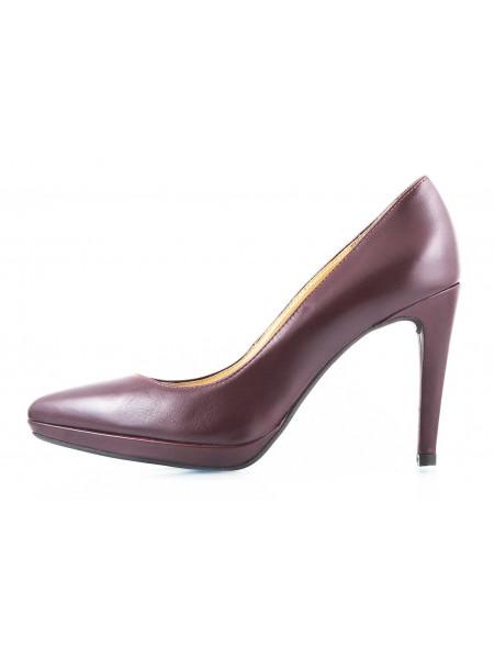 10367 RYLKO (Poland ) Туфли кожаные темно-коричневые