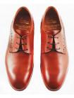 Туфли кожаные ADOLFO CARLI (ИТАЛИЯ) 2565 коричневые