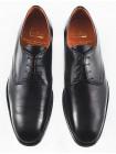 2566 ADOLFO CARLI (Italy) Туфли кожаные черные