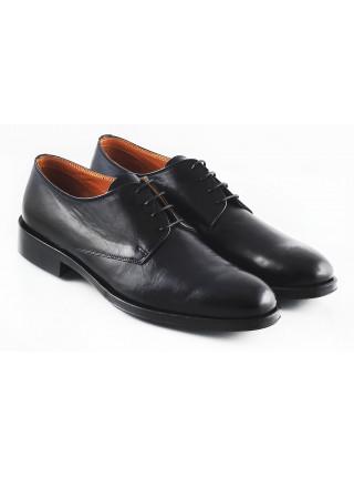 Туфли кожаные ADOLFO CARLI (ИТАЛИЯ) 2566 черные