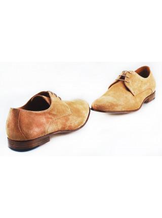 Туфли замшевые ADOLFO CARLI (ИТАЛИЯ) 2569 бежевые