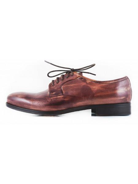 2571 DASTHON (Italy) Туфли кожаные коричневые