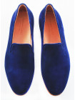 2577 PATRIZIO DOLCI (Italy) Туфли замшевые темно-синие
