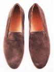 2578 PATRIZIO DOLCI (Italy) Туфли замшевые темно-бежевые