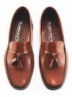Лоферы кожаные ROBERT'S (Italy) 2599 коричневые