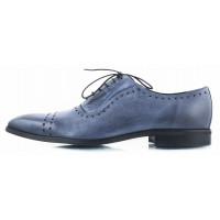 2611 CONHPOL (Poland ) Туфли кожаные синие