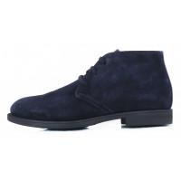 Ботинки осенние замшевые NERO GIARDINI (ИТАЛИЯ) 2618 темно-синие