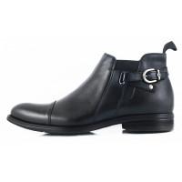 Ботинки зимние кожаные CONHPOL DYNAMIC (Poland ) 2628 черные