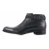 2660 CONHPOL (Poland ) Ботинки осенние кожаные черные