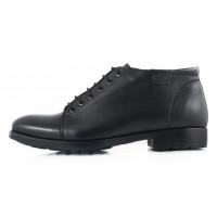 2690 CONHPOL (Poland ) Ботинки осенние кожаные черные