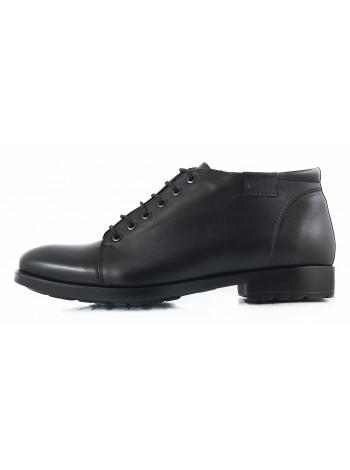 Ботинки осенние кожаные CONHPOL DYNAMIC (Poland ) 2690 черные