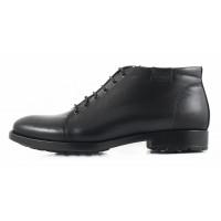 2693 CONHPOL (Poland ) Ботинки зимние кожаные черные