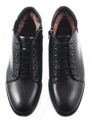 Ботинки зимние кожаные CONHPOL DYNAMIC (Poland ) 2693 черные