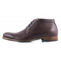 2700 RYLKO (Poland ) Ботинки осенние кожаные коричневые