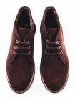 Ботинки осенние замшевые STORM (Portugal) 2712 коричневые
