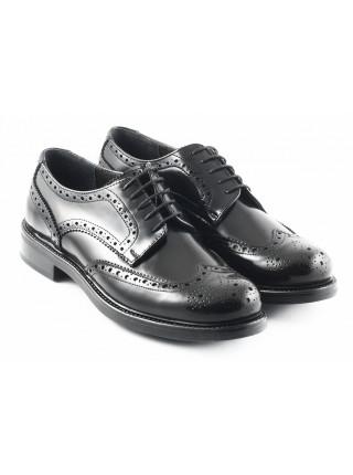 2741 PRODOTTO ITALIANO (Italy) Туфли-броги кожаные черные