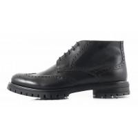 2747 PRODOTTO ITALIANO (Italy) Ботинки-броги осенние кожаные черные