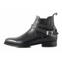 2748 PRODOTTO ITALIANO (Italy) Ботинки осенние кожаные черные