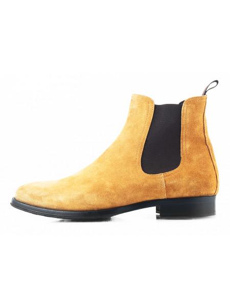 2754 PRODOTTO ITALIANO (Italy) Ботинки осенние замшевые светло-коричневые