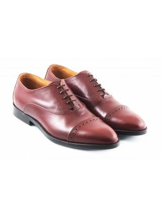 Туфли кожаные ADOLFO CARLI (ИТАЛИЯ) 2791 коричневые