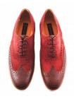 Туфли замшево-кожаные CONHPOL DYNAMIC (Poland ) 2847 коричневые