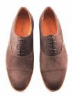 Туфли замшевые CONHPOL DYNAMIC (Poland ) 2849 коричневые