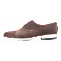 2849 CONHPOL (Poland ) Туфли замшевые коричневые