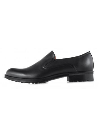 Туфли кожаные CONHPOL DYNAMIC (Poland ) 2904 черные