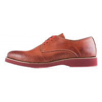 2930 BEFEETGERALD (Italy) Туфли кожаные темно-синие